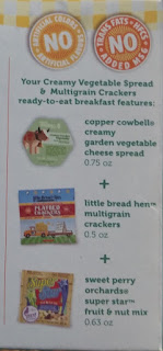 go picnic creamy vegetable spread cracker pac ingredients