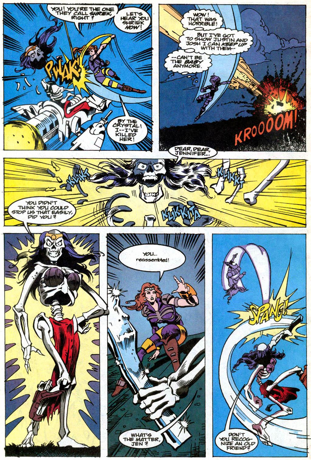 Skeleton Warriors Issue #1 #1 - English 16
