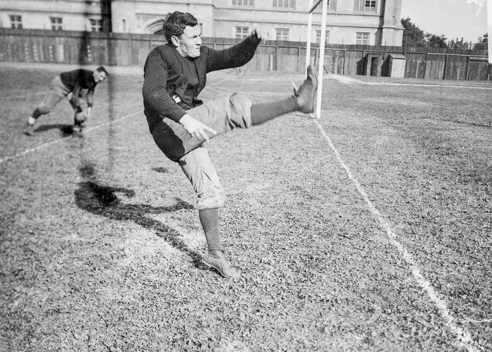 University of Chicago football player Orville