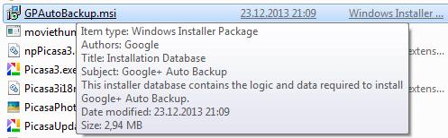 how to delete picasa auto backup