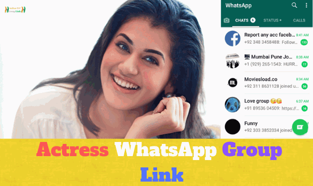83+ Best Actress WhatsApp Group Link List For Fans