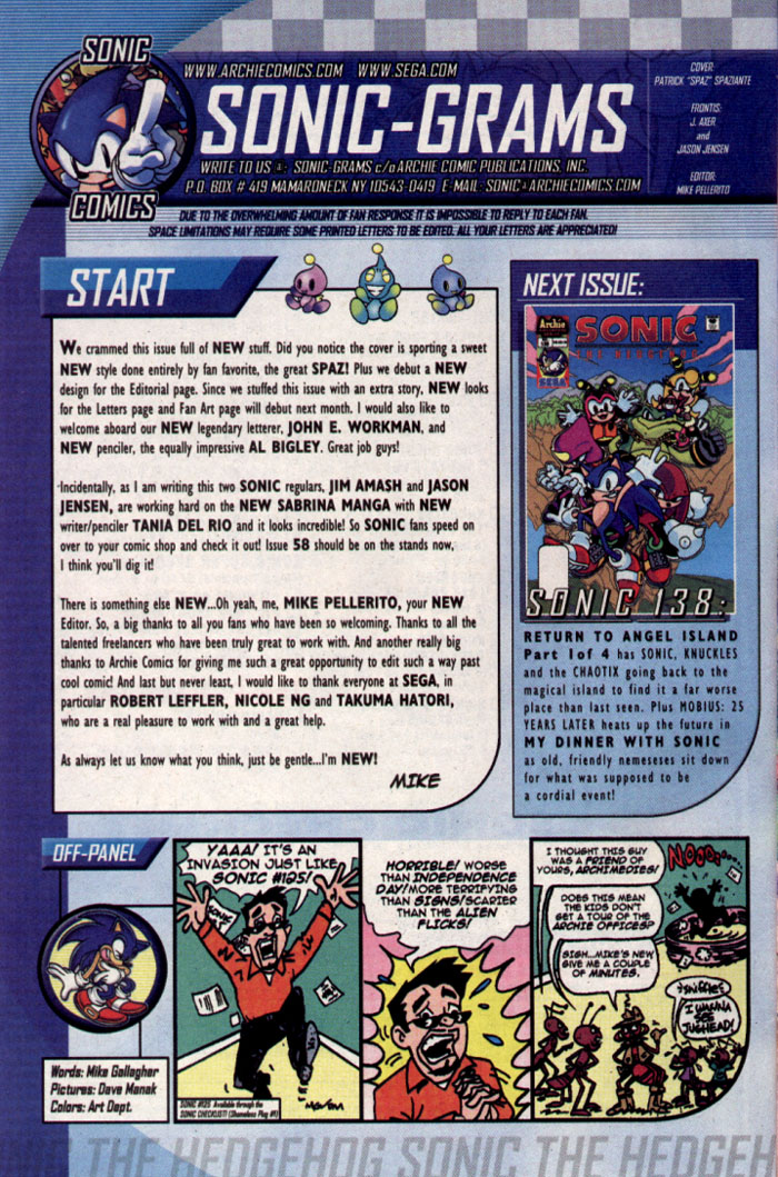 Read online Sonic The Hedgehog comic -  Issue #137 - 29