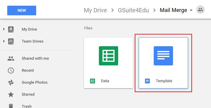 G-Suite for Education: จดหมายเวียน ! ใน Google Docs (Add-ons