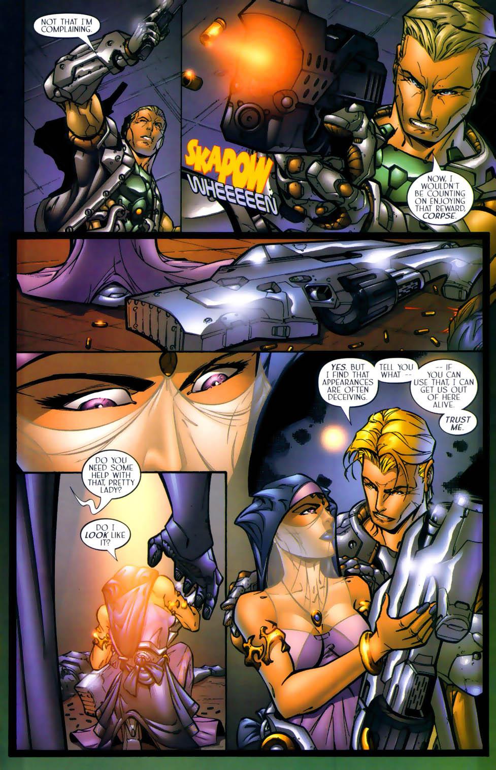Read online Sigil (2000) comic -  Issue #1 - 18