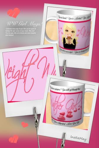 Weight Watcher Girl Motivational MUG!!