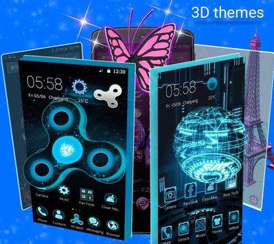 CM Launcher 3D Pro