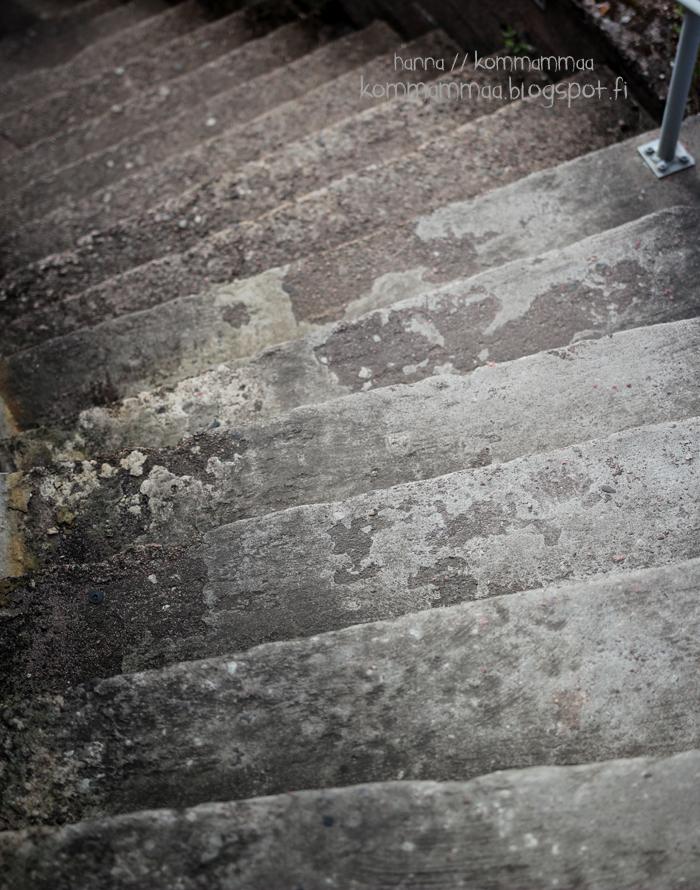 örö kesä veneily portaat katolle