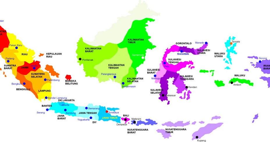 Cara mudah menggambar peta indonesia 2019 adalah cara menggambar. Negara Kesatuan Republik Indonesia Peta Wilayah Kedaulatan Republik Indonesia