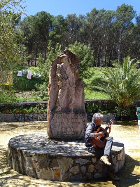 Pregonero Isidro El Gastor Plaza Cadiz Andalucia