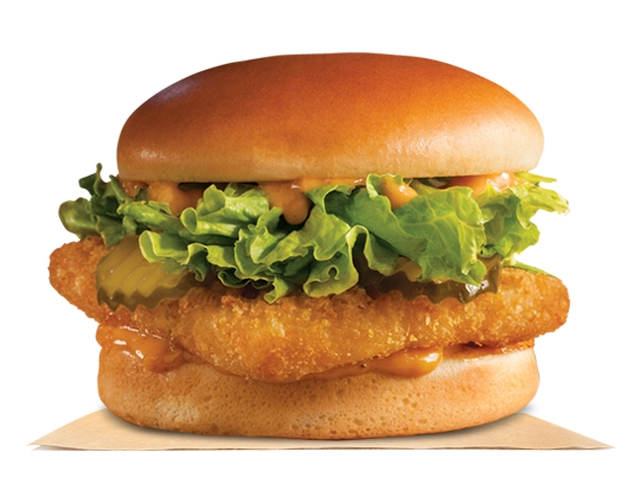 Burger king adds new spicy big fish sandwich brand eating for Burger king big fish