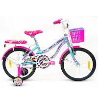 Sepeda Anak Wimcycle Barbie AF 18 Inci Lisensi