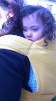 maxi-taï 2.0 sunflower bretelles rembourrées mixtes portage Ling ling d'amour bambins