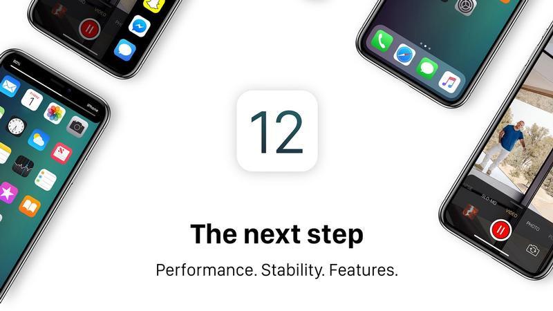 إصدار iOS 12 و macOS 10.14