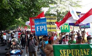 Demo Pembubaran FPI Disebut Sarat Propaganda PKI