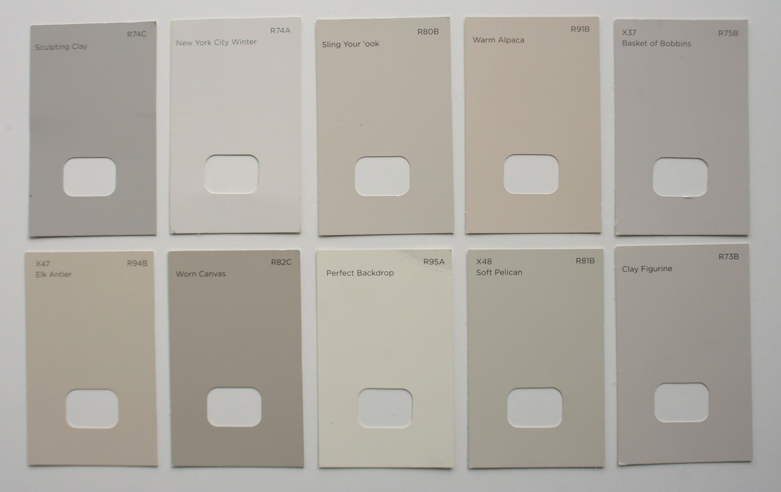 Tales From A Hy House Testing Playing With Retro Colours Valspar Warm Putty Interior Paint Sample