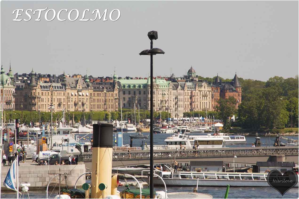Estocolmo, ciudad nordica de puentes y canales
