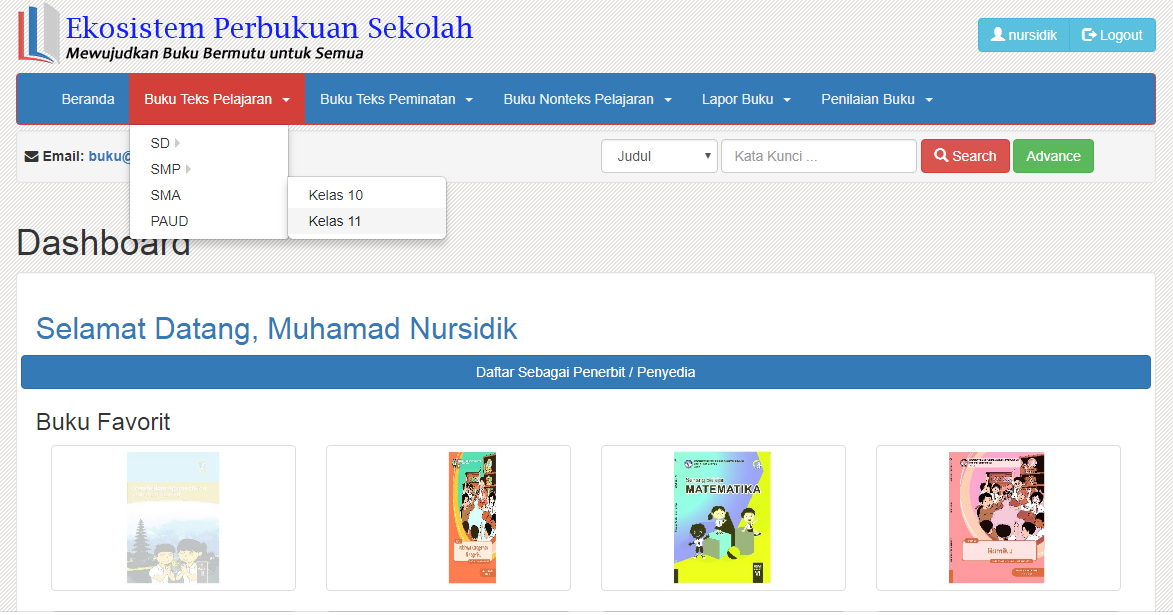 Cara Download Buku Sekolah Elektronik Bse Sd Smp Smk Dan Sma Gratis Di Internet