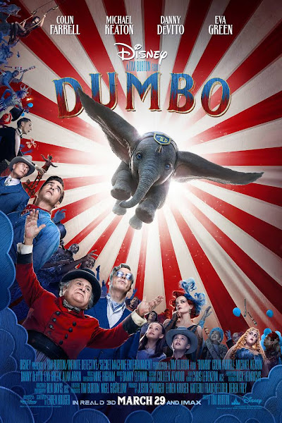 Poster of Dumbo (2019) Dual Audio [Hindi-Cleaned] 720p BluRay ESubs Download