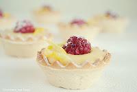 Tartaletas de crema de limón