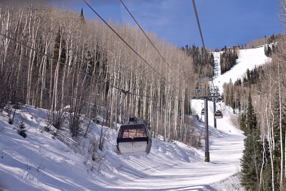 The Gondola in Telluride, Colorado.