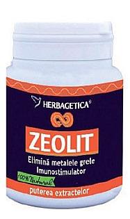 Imaginea cutiei Zeolit cu 70 de capsule detoxifiante