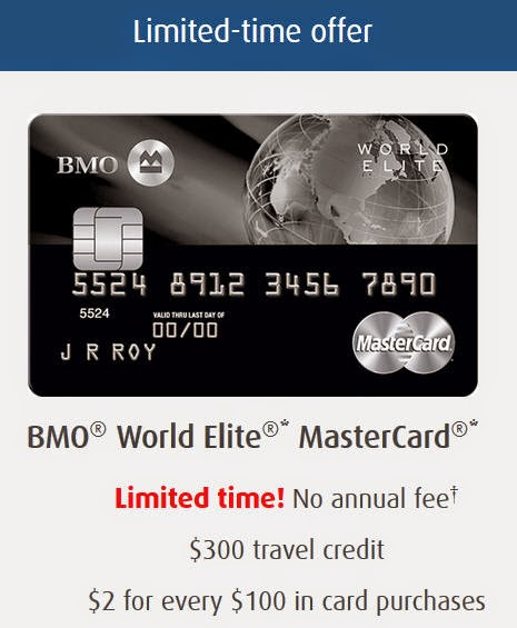 bmo world elite mastercard points value
