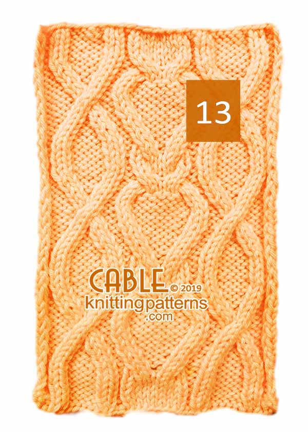 Cable Knitting Pattern 13