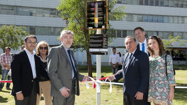 Se inauguró un Solmáforo que mide la radiación del sol en el Parque de las Ciencias
