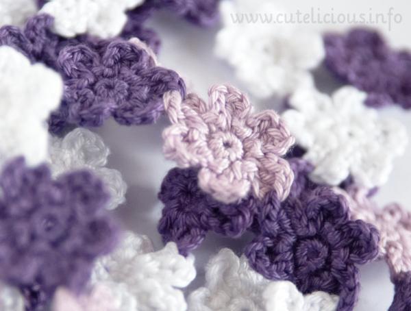 Hübsche Häkelblümchen