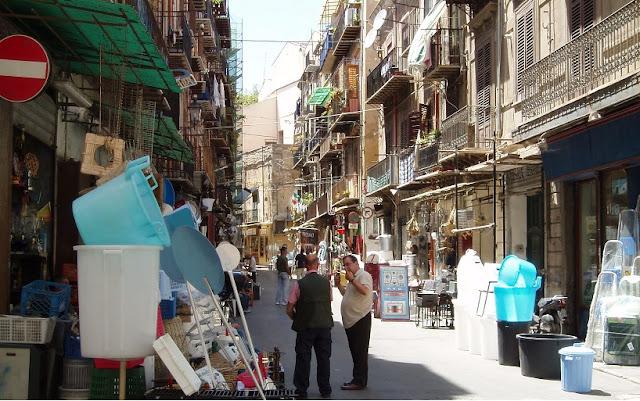 Segundo dia de viagem na Sicília