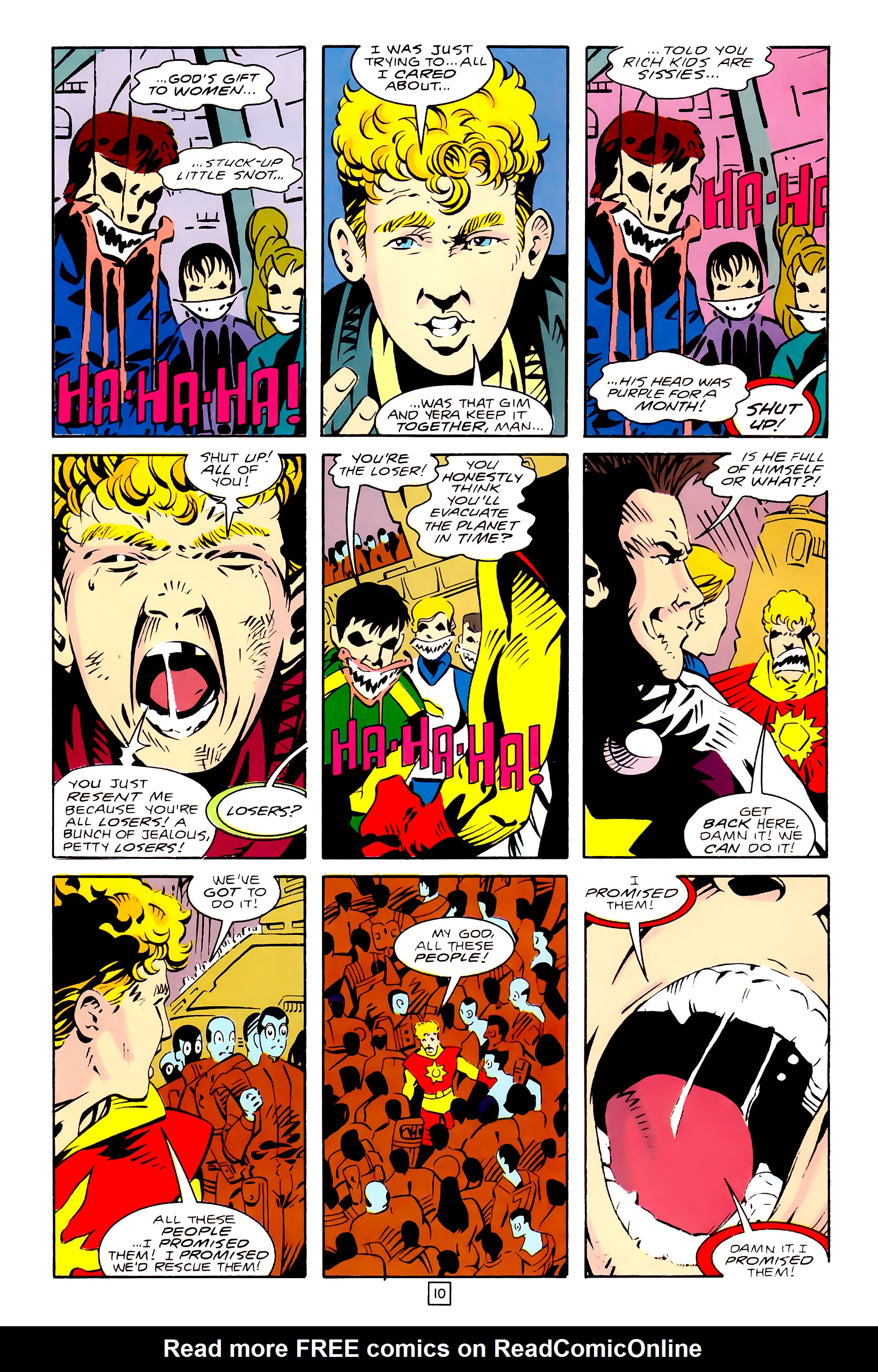 Legion of Super-Heroes (1989) 28 Page 10