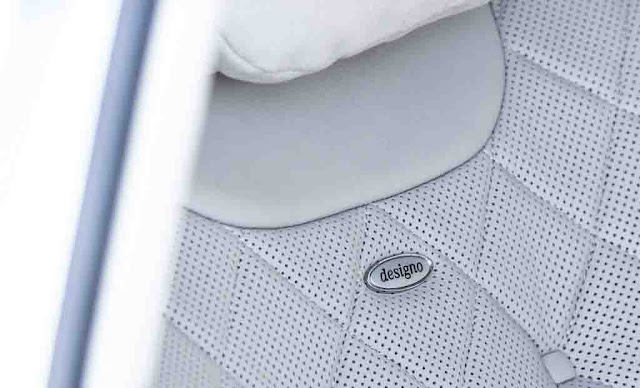Hàng ghế trước Mercedes Maybach S600 2017 sử dụng chất liệu Da Designo Exclusive Semi-Aniline