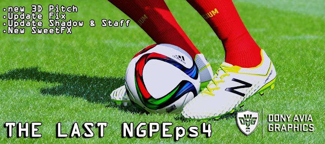 PES 2016 The Last NGPE PS4