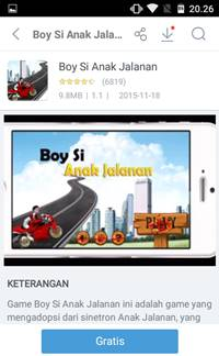 Download Game Boy Si Anak Jalanan [GRATIS] Balap Motor
