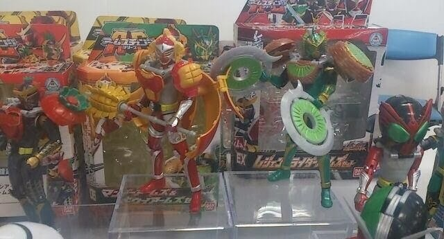 Another Look at Kamen Rider Baron Mango, Ryugen Kiwi Arms - JEFusion
