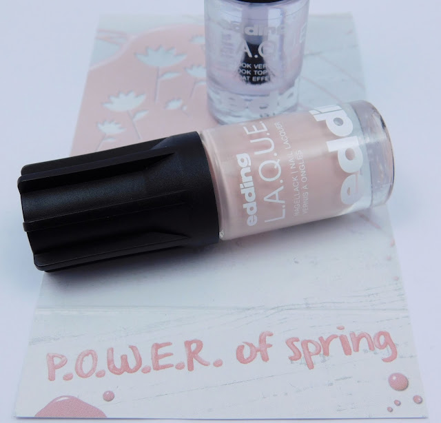 edding L.A.Q.U.E. Blooming Blossom Gewinnspiel #powerofspring