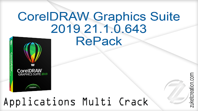 CorelDRAW Graphics Suite 2019 21.1.0.643 RePack  |  1.05 GB