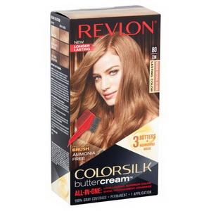 Kem nhuộm tóc tự nhuộm Revlon ColorSilk Butter Cream  80-73N xách tay Mỹ