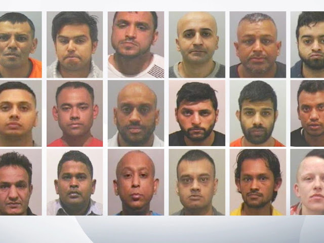 Grooming gang convictions in uk