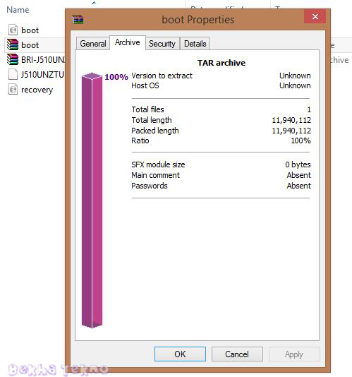 Cara Membuat File Dengan Format Tar Menggunakan Winzip