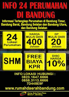 Info Harga Terbaru 24 Perumahan Di Daerah Bandung Tahun 2015