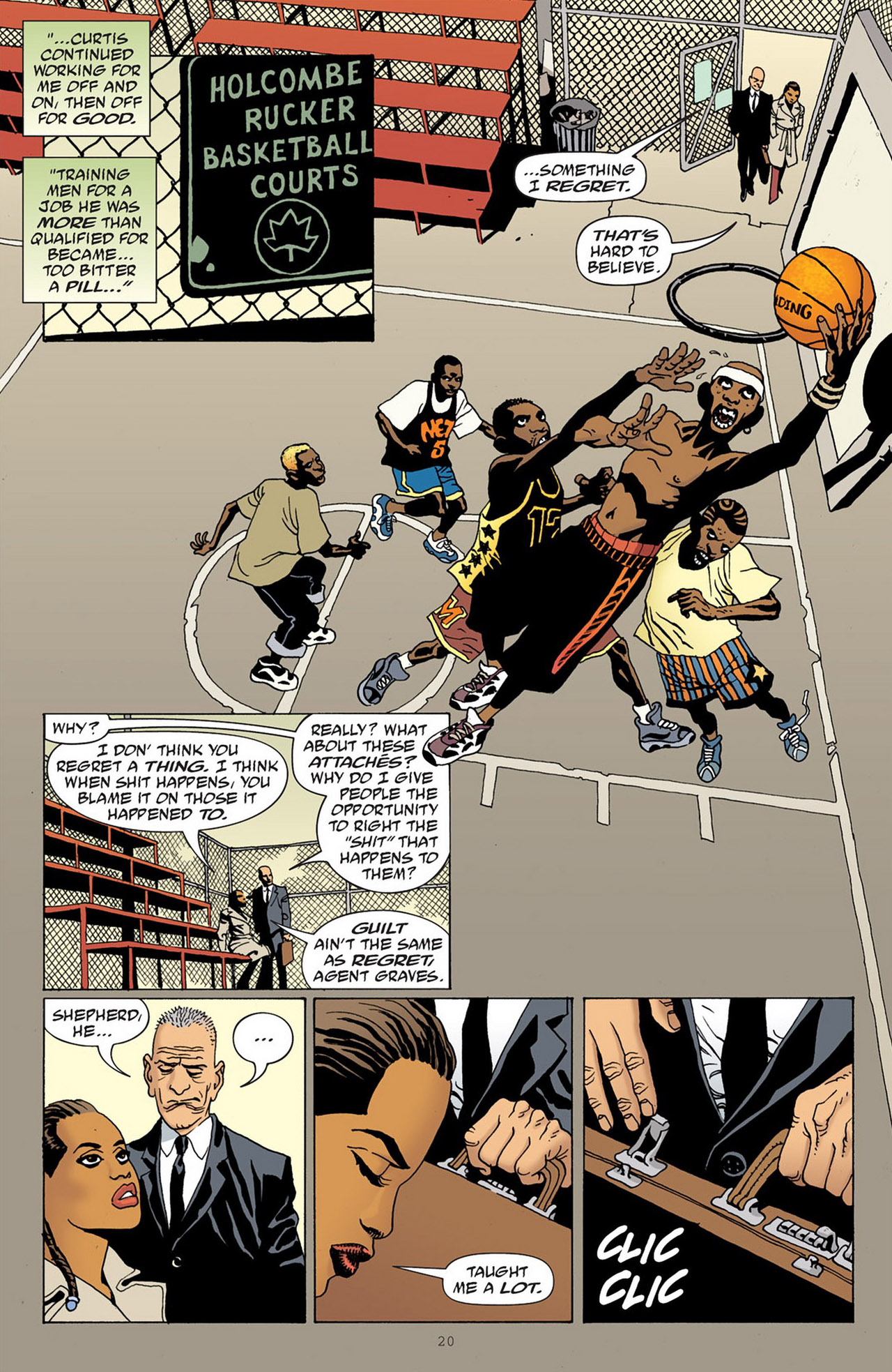 Read online 100 Bullets comic -  Issue #83 - 21