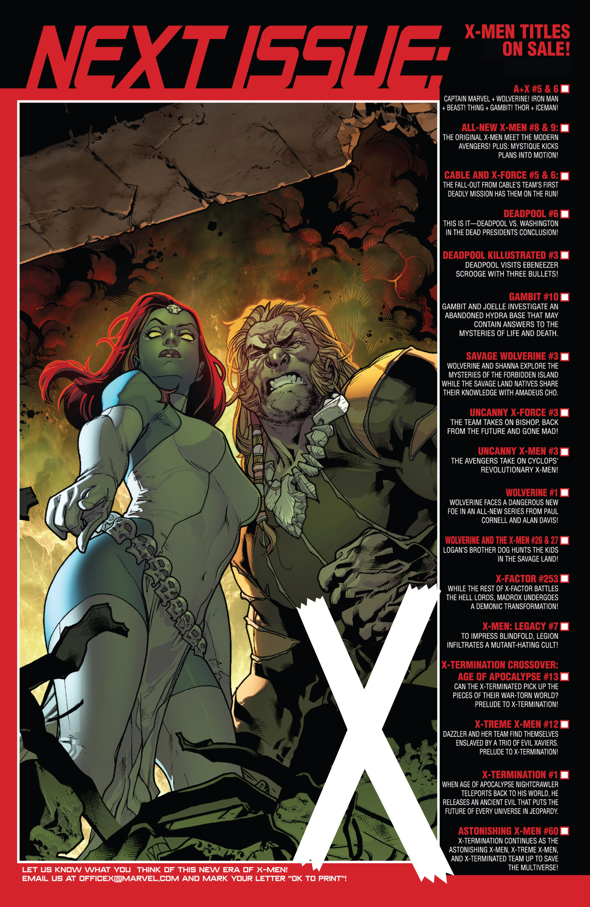 Read online All-New X-Men (2013) comic -  Issue # _Special - Here To Stay - 64
