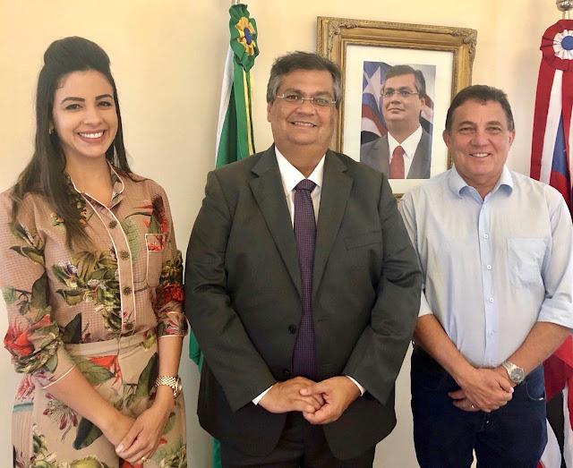 Governador Flávio Dino estará em Tuntum assinando convênios com a prefeitura.