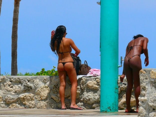 Beach voyeur nude