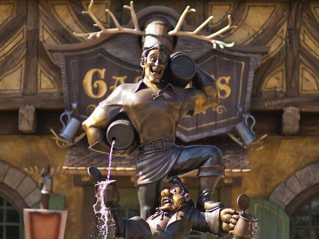 New Fantasyland Gaston Magic Kingdom