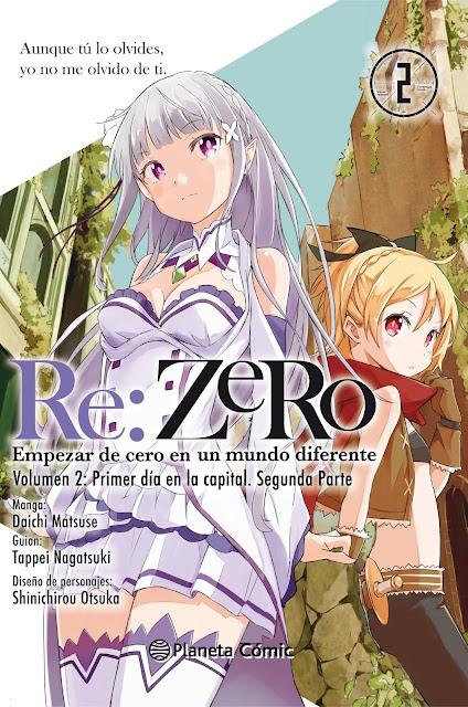 """""""Re:Zero - Empezar de cero en un mundo diferente"""" (manga) vol.2 de Daichi Matsuse - Planeta Cómic"""