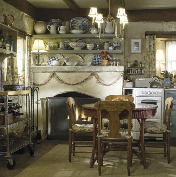 inspiracje w moim mieszkaniu: Dom w stylu cottage w filmie Holiday/ Cottage style house in the ...