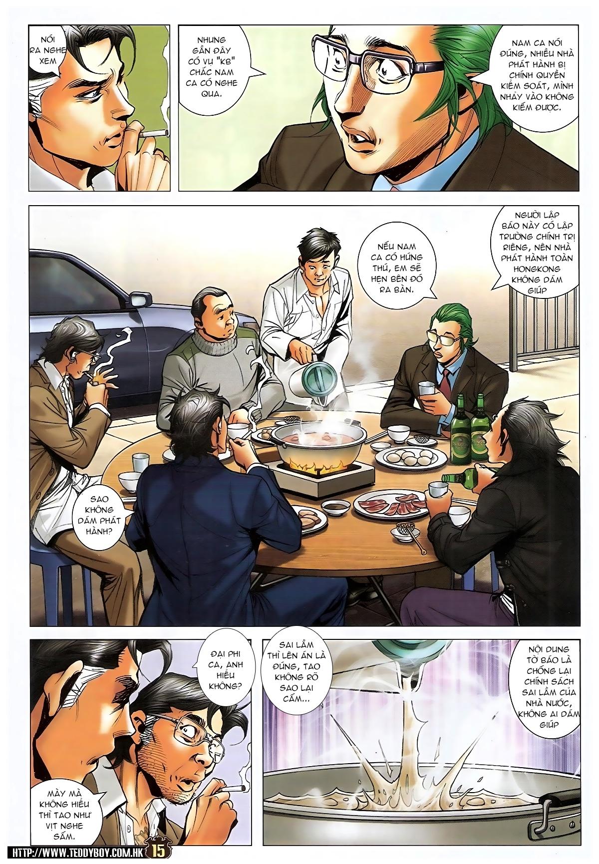 Người Trong Giang Hồ - Chapter 1573: Chuyện bên bếp lẩu - Pic 13