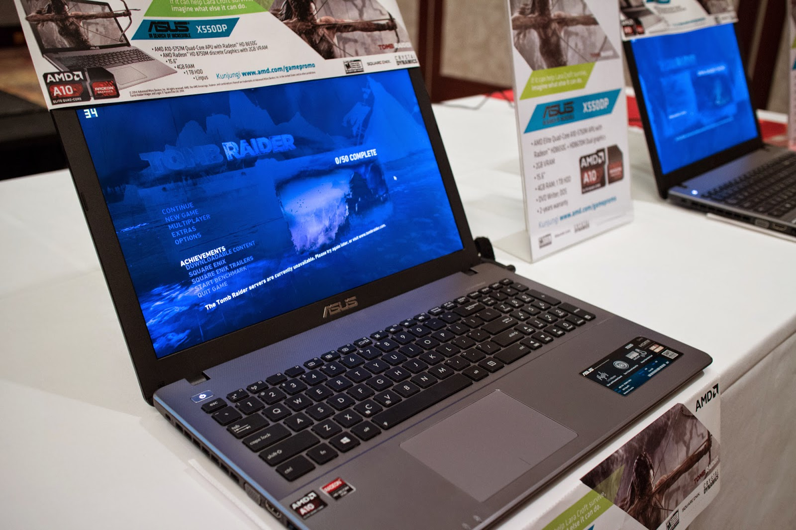 ASUS X550DP Laptop Gaming Murah
